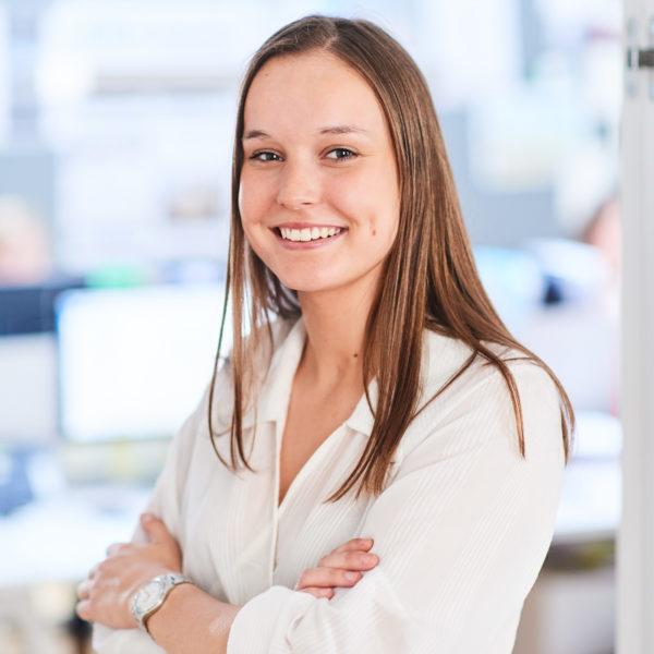 Jade Rademaecker, student chez e-maprod