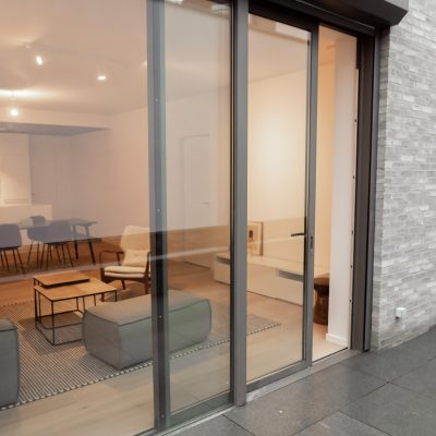 Queen 1839, rue souveraine, architecte Marc Corbiau, appartement témoin