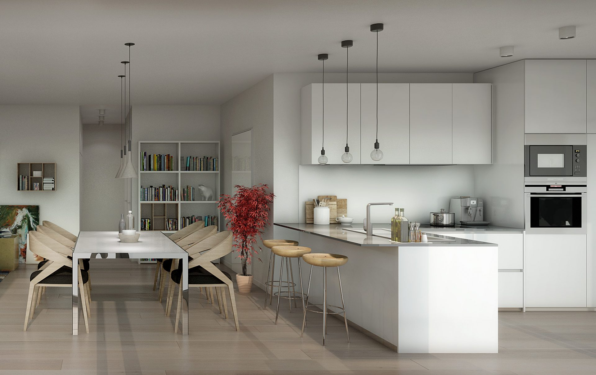 Lousie 430, Avenue Louise , Penthouse, architecte Marc Corbiau